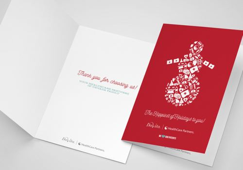 HealthCare Partners – Holiday Cards 2015
